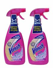 2 x VANISH PREEN 440ML OXI ACTION CARPET AND UPHOLSTERY STAIN REMOVER Brand New