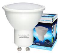 10 Pack GU10 5W LED Beautiful Warm White Colour 50w Replaces Halogen Bulb
