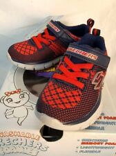 Sketchers Boy's Foamies Synergy Mini Knit Washable Sneaker Size Infant/Toddler 5