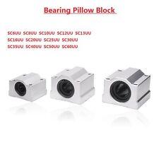 Linear Motion Shaft Rail Ball Bearing Bushing Pillow Block 6810121316 60mm