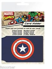 Captain America porte cartes officiel Captain America shield card holder