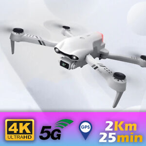 Drone With 4K Full HD Dual Camera GPS 5G WIFI For Pro RC FPV Quadcopter 2021 Bag