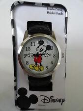 New Disney Mickey mouse braided leather band watch, Quartz. new/ Box/warranty