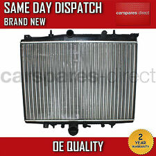PEUGEOT 406 / 607 2.0 MANUAL RADIATOR 1995 TO 2005 *BRAND NEW*