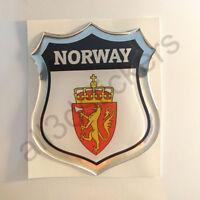 2x haugesund NORWAY coat of arms bumper stickers decals