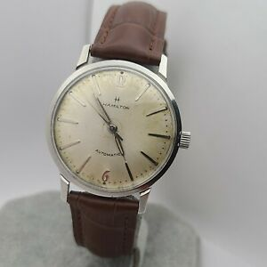 Vintage Hamilton 679 Men's automatic watch 17Jewels stainless steel swiss 1950s