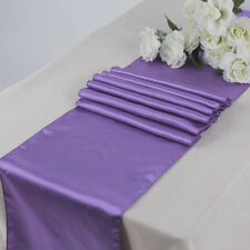 "Satin Table Runner 20 pcs 12""X108"" Wedding venue party decoration - Lavender"
