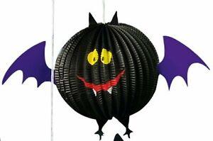 Bat Honeycomb Decoration - 18cm - Halloween