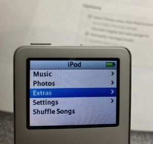 Apple iPod Nano 1st Gen White 2 GB A1137 Tested and Working, FREE SHIPPING! 2gb