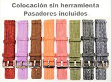 Correa De Nylon Para Reloj - 20mm - Transpirable - Resiste El Agua - 8 Colores
