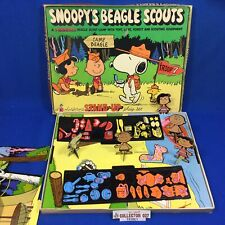 Boy Scout Snoopy's Beagle Scouts Colorforms Stand-Up Playset