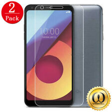 [2-PACK] Premium HD Clear Tempered Glass Screen Protector For LG Q6
