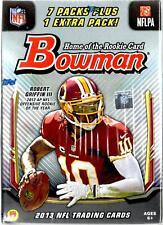 2013 Bowman Football Blaster Box