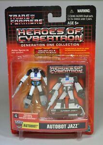 Hasbro Transformers Heroes of Cybertron Wave 4 Jazz Autobot