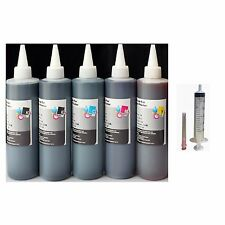 Pigment Bulk Refill INK Bottles For Canon PGI-250 CLI-251 PIXMA MG5520 MG5522
