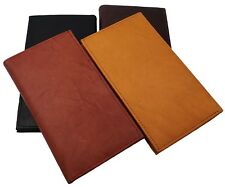 Genuine Leather Checkbook Cover Wallet Organizer with Credit Cards Holder New
