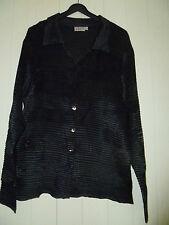 EAST Evening Shirt Ladies Size M/L Black