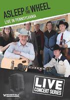 ASLEEP AT THE WHEEL - LIVE IN PENNSYLVANIA  DVD NEU