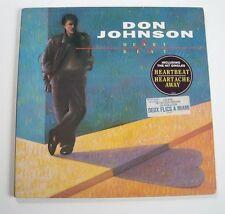 """Don JOHNSON """"Heartbeat"""" (Vinyle 33t / LP) 1986"""