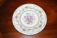 FANTASTIC HAAS BOHEMIA DRESDEN FLOWER DECOR EMPIRE STYLE CABINET WALL PLATE #1