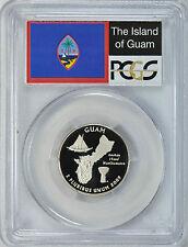 2009-S GUAM CLAD PROOF QUARTER 25C PCGS PR70DCAM