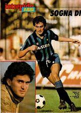 B4 Clipping-Ritaglio 1984 Intervista a Antonio Sabato Inter