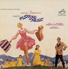The Sound of Music (1965 Film CD Soundtrack) Rodgers Hammerstein Julie Andrews
