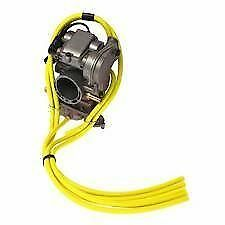 SUZUKI RM65 RM85 RM125 RM250 RMZ250 RMZ450 5 PACK CARBURETTOR HOSE KIT IN YELLOW