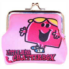 Genuine Mr Men and Little Miss 'Little Miss Chatterbox' Coin Purse - Ideal Gift