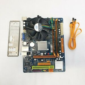 Biostar G31D-M7 Rev. 8.0, Intel E5400 2.70 GHz, 4GB DDR2 Motherboard Bundle