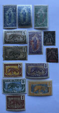 French Congo: Lot of 13 stamps mostly MLH