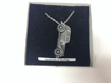 Armstrong Siddeley 14hp ref5 PENDENT ON Silver Platinum Plated Necklace