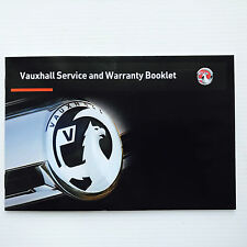Vauxhall ZAFIRA and ZAFIRA TOURER Service Book New Blank Genuine
