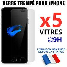 FILM DE PROTECTION d'écran VERRE TREMPE VITRE Pour iPhone SE/6S/7/8/XR/XS/MAX/11