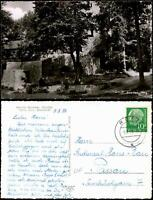 Ansichtskarte Rötz (Oberpfalz) Partie a.d. Burg Rötz (Oberpfalz) 1958