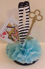 Alice in Wonderland birthday party baby shower table decor centerpiece