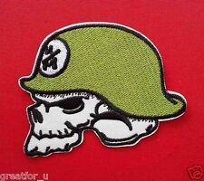 Patch Lo go Cranium03  sew on jackets or hat+for gift handmad