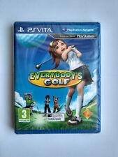 Everybody's Golf PS Vita PSV EU European Version Brand New Neuf