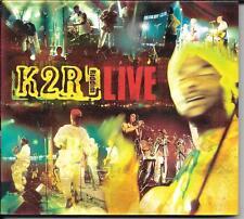 CD ALBUM LIVE 7 TITRES DIGIPACK--K2R  RIDDIM--LIVE--1999