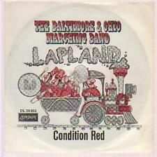 "7"" The Baltimore & Ohio Marching Band Lapland / Condition Red 60`s London DL"