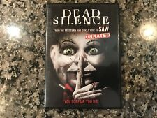 Dead Silence Dvd! 2007 Horror! Also See Devil Doll & Saw II & Seed Of Chucky