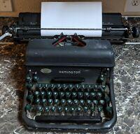 Remington Rand Standard No. 17 Vintage Mechanical Typewriter Mfg Jan 1947