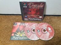 DRACULA THE RESURRECTION - PlayStation 1 PS1 - Complete
