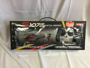 Syma Radio Controlled Mini Helicopter S107G Metal Series - U
