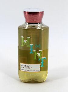 Bath & Body Works Coconut Mint Drop Shower Gel 10 oz Retired New Sealed
