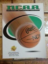 1997 NCAA Basketball Tournament Program First and Second Round Detroit UCLA