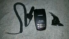 Beltronics Pro 500 Radar detector with Gps, Smart Cord and extra mount - used