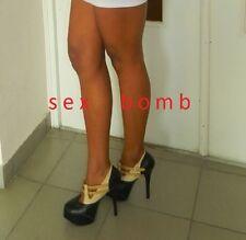 scarpe donna PLATEAU INVISIBILE tacco 14 cm n. 38 SEXY glamour SCONTO 26% !!!
