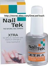 NAIL TEK* The Natural Experts XTRA Polish/Treatment for DIFFICULT/RESISTANT New!