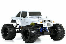 HSP Boomwheel 1/8 Scale 2.4ghz RTR .21 NITRO Engine 4wd RC Monster Truck